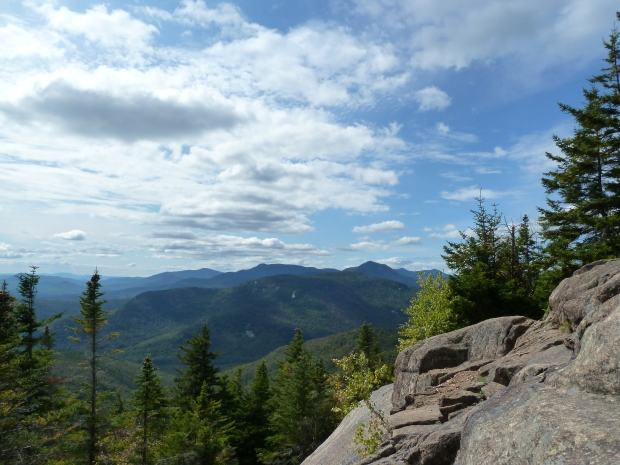 Mount Chocorua offers fine views all along the trail.