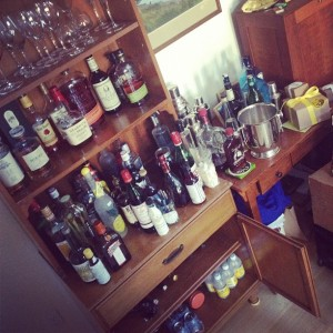 Every overstocked home bar began as a single bottle.