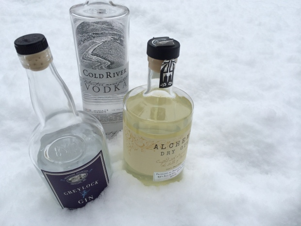 Here's one way to keep your New England-distilled spirits cold.